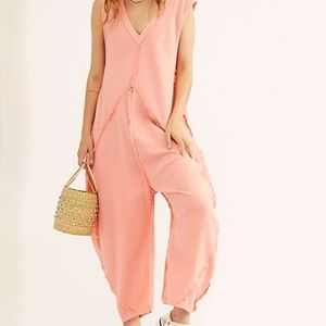 Free People 🌋 hot fun jumpsuit size XL